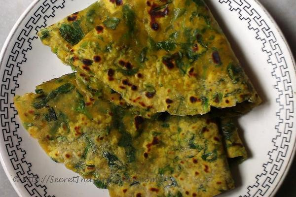 photo of Palak Paratha