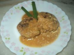 picture of Mutton keema tikia ( minced mutton tikia curry)