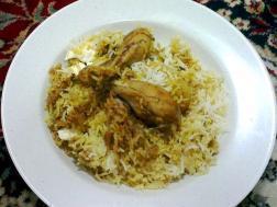 Picture of: Dum Chicken Biryani