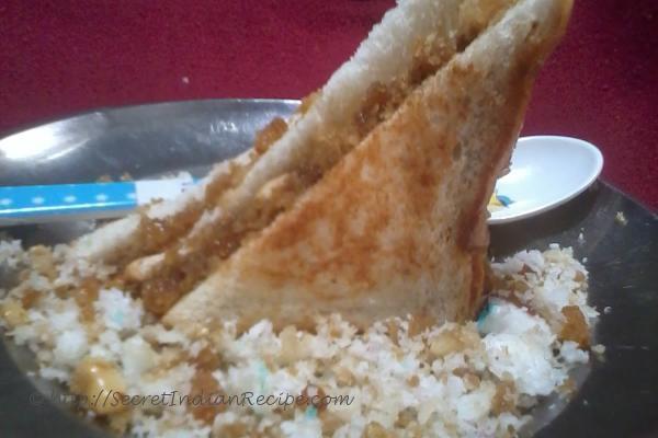 photo of coconut sandwich