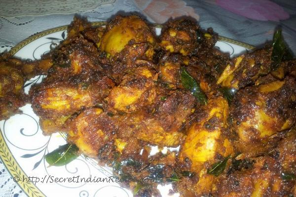 photo of Spicy Malabar Chicken fry