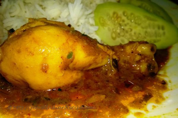 photo of chicken curry