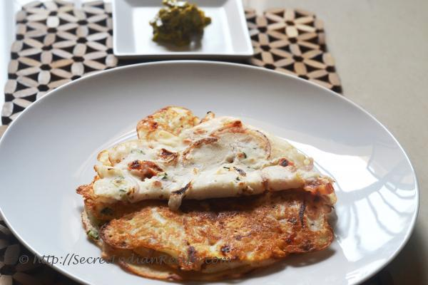 Picture of: Onion Dosa (South Indian savoury pancakes) - Dosa Batter recipe included