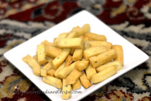 Picture of: Nimki - Indian snacks