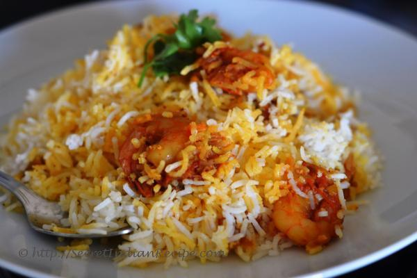 Picture of: Prawn Biryani, Jhinga Biryani