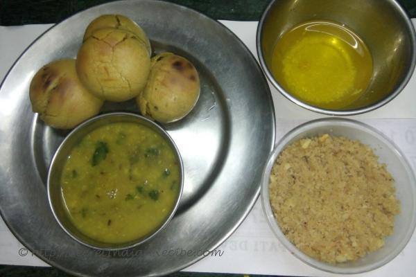 photo of rajsthani dal bhati and churma