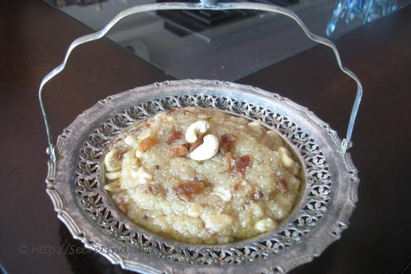 photo of Doce Bhaji (Goan Lapsi)
