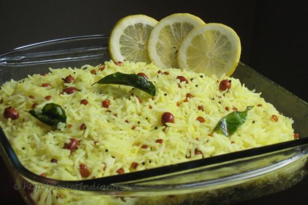 photo of lemon rice