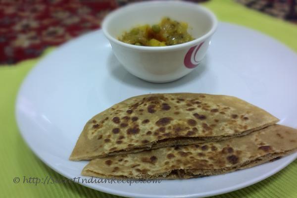 Picture of: Sattu ka paratha (Indian bread)