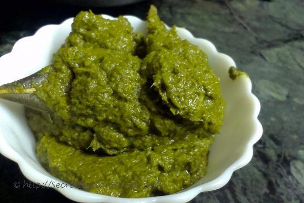 photo of sarson ka saag in uttar pradeshi style (indian side dish made of mustard leaves)