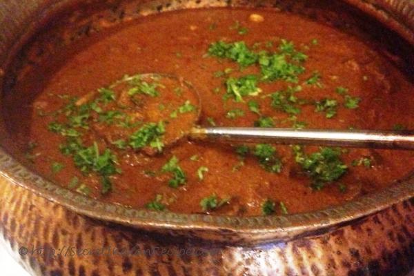 photo of kolhapuri mutton masala ( tambda rassa)
