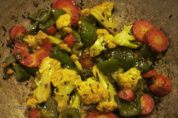 photo of satvik malai besan mix veg (mix veg creamy gram flour curry)