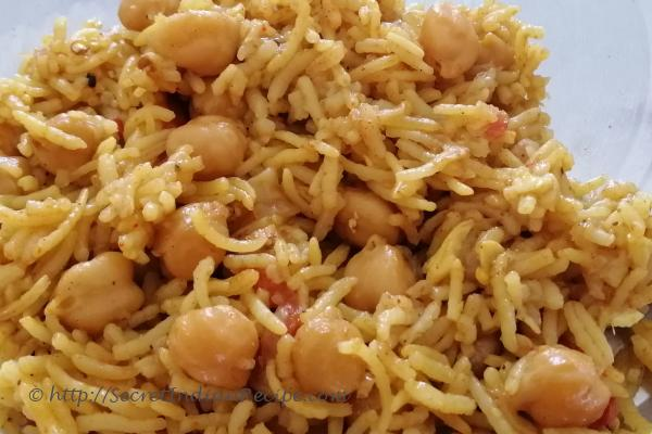 photo of Chana biriyani