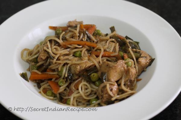 photo of Chicken Hakka Noodles