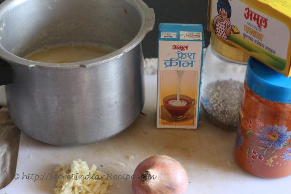 photo of lahori dal ingredients