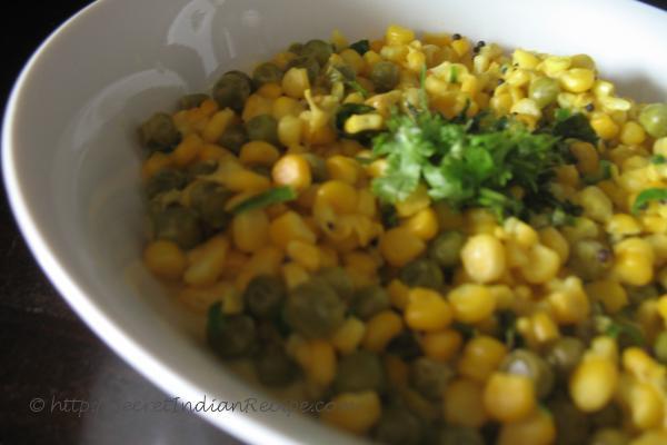photo of Corn Bhaji ( Bhutta Bhaji)