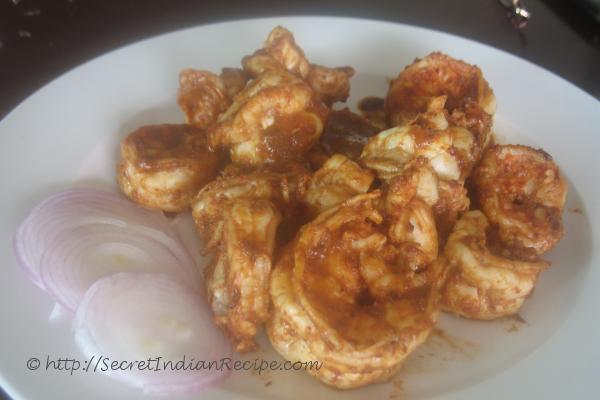 photo of Masala Fried Prawns ( Instant Masala)