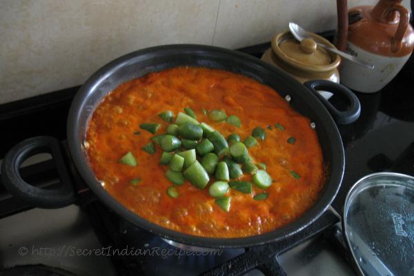 photo of Tendli Kodi ( Ivy Gourd Curry)