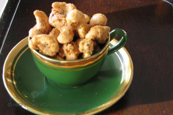 photo of Masala Kaju ( Spiced Cashew nuts)