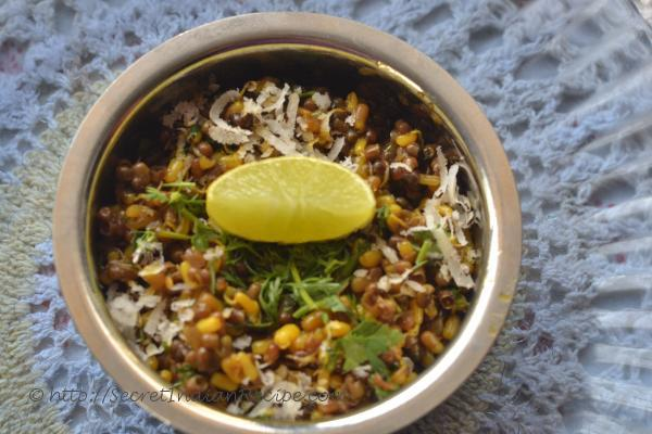 photo of Matki chi Usal (Traditionally prepared Sprouted Moth beans)