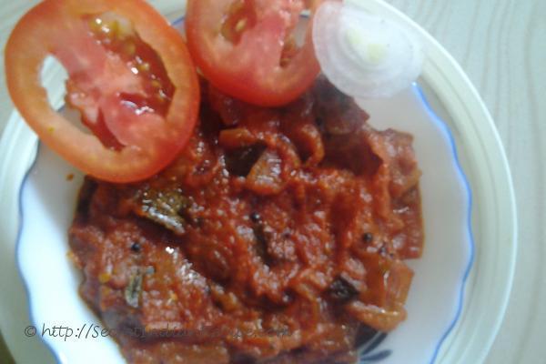 Cashews tomato Chutney