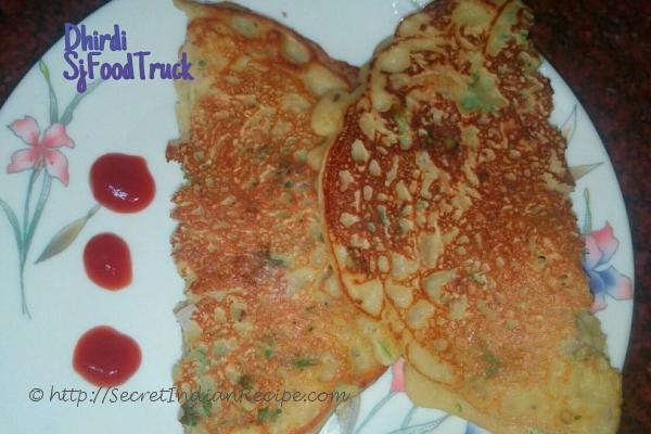 photo of dhirdi - indian spicy mix flour pancake