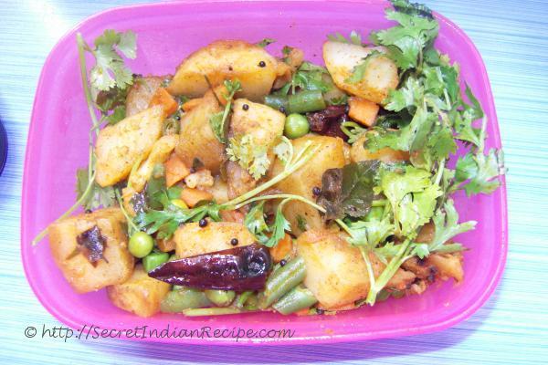 Photo of nadan beans potato ularthiyathu