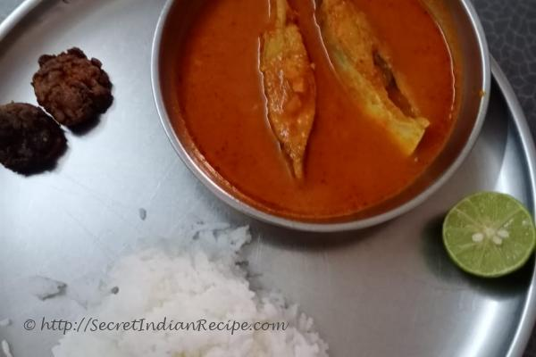 photo of marathi fish curry