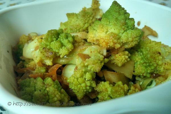 photo of Broccoflower Stir-Fry