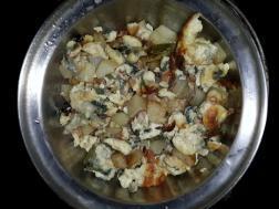 Egg Aloo bhurji