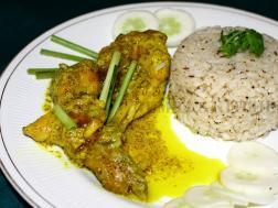 photo of HONEY MUSTARD CHICKEN IN LEMONGRASS