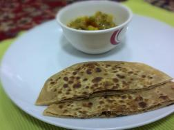 Picture of: Sattu ka paratha (Indian bread)