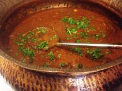 photo of kolhapuri mutton masala ( tambda rassa)