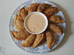 photo of gujiyas for holi