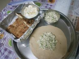 photo of Quick Egg Paneer Paratha