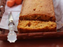 photo of Carrot cake after baked
