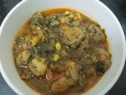 picture of Gahori Laihaak ( Pork with Mustard Greens)