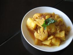 photo of Khatta Mitta Ananas ( Sweet and Sour Pineapple)