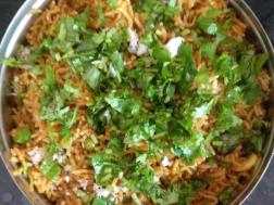 photo of masala bhat (masale bhaat)